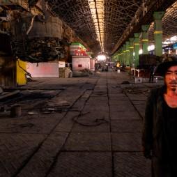 Cholima Stahlfabrik, hier wird hauptsächlich Altmetall eingeschmolzen.