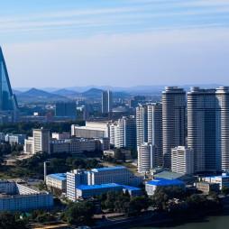Pjöngjang, eine Stadt wie keine andere. Ich nenne den prägenden Baustil stalinistischen Futurismus.