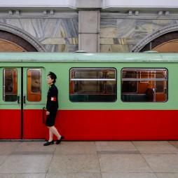 Die U-Bahnzüge kommen übrigens aus Berlin.