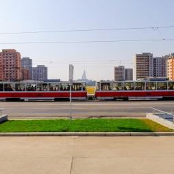 unverbaubarer Blick zum Mansudae Platz