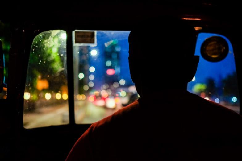 Der betrügerische Tuktukfahrer.